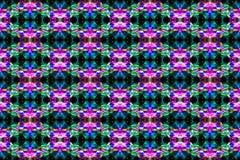 Abstrakter Rauch Art Pattern Stockfoto
