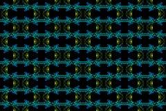 Abstrakter Rauch Art Pattern stockbild