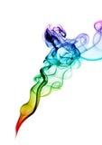 Abstrakter Rauchhintergrund Stockfotos