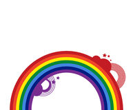 Abstrakter Regenbogen Lizenzfreies Stockbild