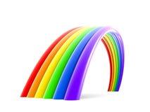 Abstrakter Regenbogen Lizenzfreies Stockfoto
