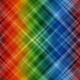 Abstrakter Regenbogen färbt Hintergrund mit unscharfen Linien Stockfotografie