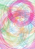 Abstrakter Regenbogen für Hintergrund Lizenzfreie Stockfotos