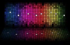 Abstrakter Regenbogen - farbiger Hintergrund Stockbild