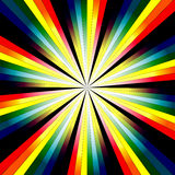 Abstrakter Regenbogen-Hintergrund Stockfotos