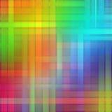 Abstrakter Regenbogen unscharfe Linien Farbspritzenfarben-Kunsthintergrund Lizenzfreies Stockbild