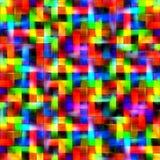 Abstrakter Regenbogen unscharfe Linien Farbspritzenfarben-Kunsthintergrund Lizenzfreies Stockfoto
