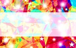 Abstrakter Regenbogenfarbhintergrund mit Raum für Text. Lizenzfreies Stockfoto