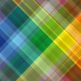 Abstrakter Regenbogenfarbzeichnungs-Plaidhintergrund Stockfoto