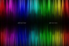 Abstrakter Regenbogenhintergrund Lizenzfreie Stockbilder