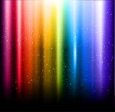Abstrakter Regenbogenhintergrund Stockfoto