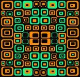 Abstrakter Retro- Auslegung-Hintergrund lizenzfreie abbildung