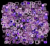 Abstrakter Retro- Auslegung-Hintergrund stock abbildung