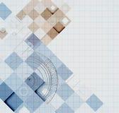 Abstrakter Retro- Digitalrechnertechnologiegeschäftshintergrund Lizenzfreies Stockfoto
