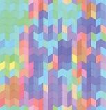 Abstrakter Retro- Vektor-gestreifter Hintergrund Stockfoto