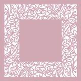 Blumenrahmen Stockfoto