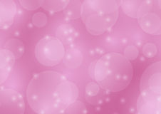 Abstrakter rosa bokeh Unschärfehintergrund Stockfotos