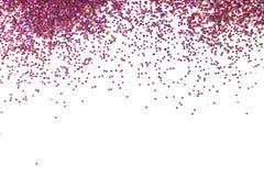 Abstrakter rosa Funkelnhintergrund mit Kopienraum stockfoto
