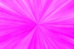 Abstrakter rosa magentaroter bezaubernder Hintergrund mit Radialstrahlen von der Mitte Stockbilder