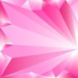 Abstrakter rosa niedriger Polyhintergrund Vektorillustrationsgestaltungselement Rosa weiße Steigung Lizenzfreie Stockfotos