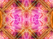 Abstrakter rosafarbener Hintergrund Stock Abbildung