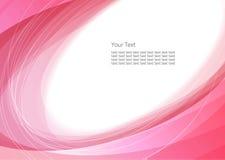 Abstrakter rosafarbener Hintergrund Lizenzfreie Stockfotos