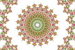 Abstrakter Rosenblumenstrauß-Ölfarbehintergrund Stockfotos