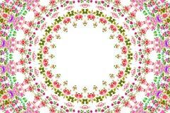 Abstrakter Rosenblumenstrauß-Ölfarbehintergrund Lizenzfreie Stockfotografie