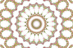 Abstrakter Rosenblumenstrauß-Ölfarbehintergrund Stockfotografie
