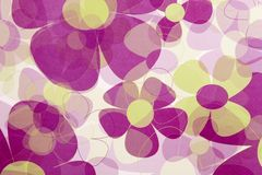Abstrakter roter Blumen-Hintergrund Stockfotografie