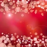 Abstrakter roter Fokushintergrund Stockfotografie
