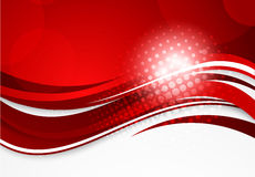 Abstrakter roter Hintergrund stock abbildung