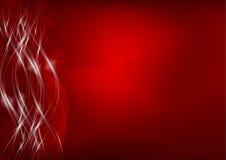 Abstrakter roter Hintergrund Lizenzfreies Stockfoto