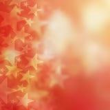 Abstrakter roter Hintergrund und Sterne Lizenzfreie Stockbilder