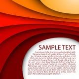 Abstrakter roter Hintergrundauszug, Kunst, künstlerisch, b Stockbild