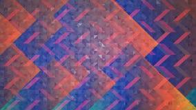 Abstrakter roter und blauer Hintergrund Stockbilder