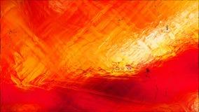 Abstrakter roter und orange Glaseffekt-malender Hintergrund lizenzfreie abbildung