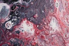 Abstrakter roter und schwarzer moderner Grafikhintergrund lizenzfreie stockfotos