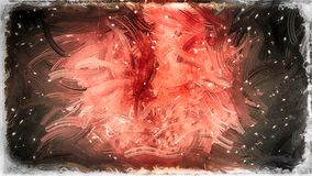 Abstrakter Roter und Schwarzglas-Effekt-Farben-Hintergrund vektor abbildung