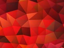 Abstrakter roter Vektorhintergrund Lizenzfreies Stockbild