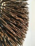 Abstrakter Rusty Nails Stockfoto