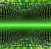 Abstrakter sauberer vektorwellen-Hintergrund Stockbild