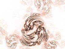 Abstrakter schöner bunter Hintergrund Lizenzfreies Stockbild