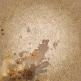 Abstrakter Schmutzbraunhintergrund mit Kratzer und Stock Abbildung