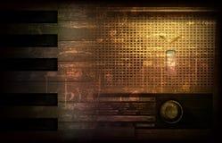 Abstrakter Schmutzhintergrund mit Retro Funk Lizenzfreie Stockfotografie