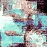 Abstrakter Schmutzhintergrund von den Farbchaotischen unscharfen Stellen b?rsten Anschl?ge von verschiedenen Gr??en vektor abbildung
