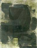 Abstrakter schwarzer Anstrich stock abbildung