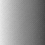 Abstrakter schwarzer Halbtonhintergrund des Vektors Retro- Linie Musterdesign der Steigung Einfarbige Grafik vektor abbildung