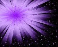 Abstrakter schwarzer lila Hintergrund Stockbilder
