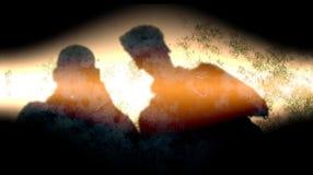 Abstrakter schwarzer multi Hintergrund Effekte der Sandfarbmischung Farb lizenzfreie stockfotos